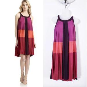 BCBGMaxazria Kailyn Pleated Trapeze Dress XS